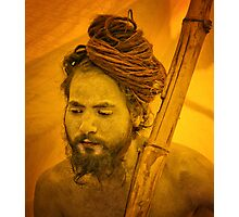 The Sadhu Photographic Print