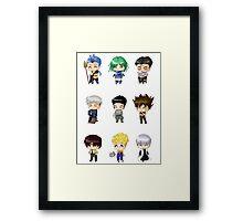Anime Eyes Wide Shut Framed Print