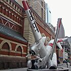 Airplane Sculpture in Philadelphia PA - Navy S2F by MotherNature