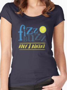Fizz Buzz! Women's Fitted Scoop T-Shirt