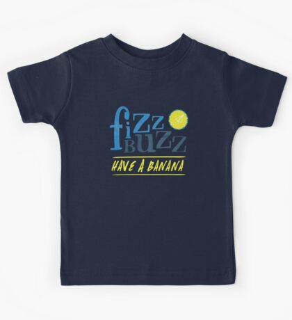 Fizz Buzz! Kids Tee