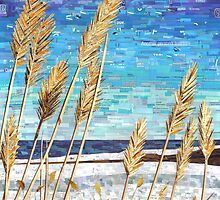 Wintertime on Lake Erie by SRowe Art