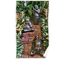 Zen Garden Trio Poster