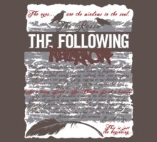 The Following:Nevermore by Ameda Nowlin