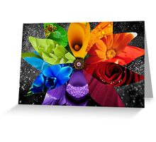 Extravagant Beauty Greeting Card
