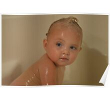 Baby Bath Poster