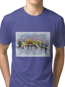 The Little Carollers Tri-blend T-Shirt