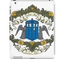 Don't Blink (color) iPad Case/Skin