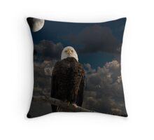 American Bald Eagle Composite Throw Pillow