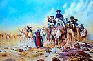 Napoleon in Egypt after Jean-Léon Gérôme by Hidemi Tada