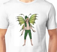 Christmas Fairy Elf Boy Unisex T-Shirt
