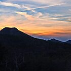 Pastel Explosion over Pinnacle Mountain by Lisa G. Putman