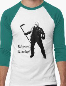 Jason is not a Crosby fan... Men's Baseball ¾ T-Shirt