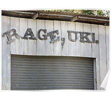 Rage, Uki Poster