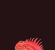 Iguana 2  by Achim Klein