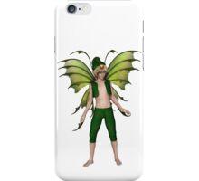 Christmas Fairy Elf Boy iPhone Case/Skin