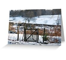 Fence, Greeting Card