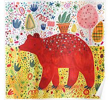 The Bear That Carries the Plant Poster
