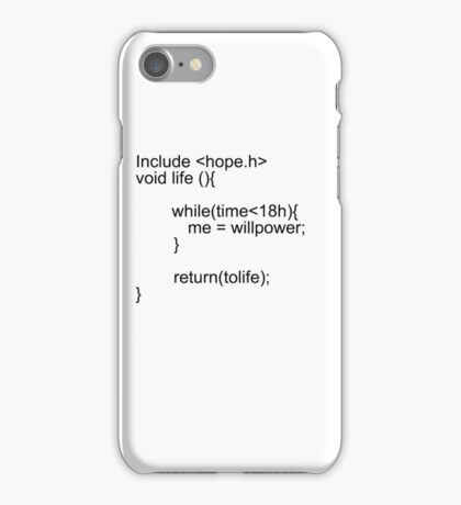 C Code iPhone Case/Skin