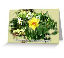 Easter Blessings 101 Greeting Card