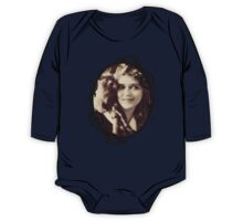 Mary Pickford - Vintage Lady with kitten - Vintage Selfie One Piece - Long Sleeve