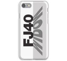 FJ40 Widow Shadow iPhone Case/Skin