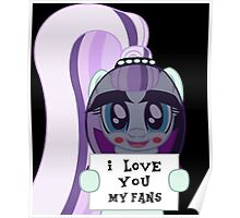Countess Coloratura loves her fans Poster