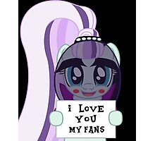 Countess Coloratura loves her fans Photographic Print