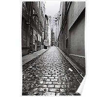 City Lane, Melbourne Poster