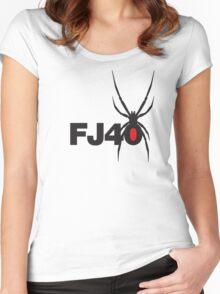 FJ40 Widow Spider  Women's Fitted Scoop T-Shirt
