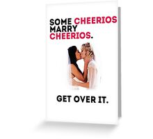 Some Cheerios Marry Cheerios. Greeting Card