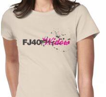 FJ40 Widow Splat Womens Fitted T-Shirt