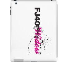 FJ40 Widow Splat iPad Case/Skin