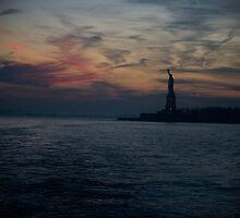 The Statue of Liberty by Marta Grabska-Press
