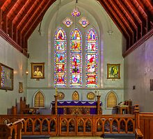 St George the Martyr church - Queenscliff by Hans Kawitzki