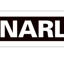 Gnarly: As In This T-Shirt Is Gnarly Sticker