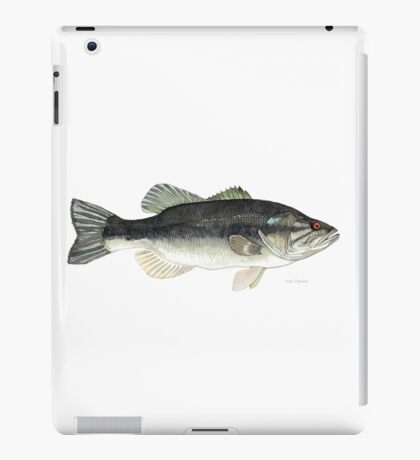 Large Mouth Bass iPad Case/Skin
