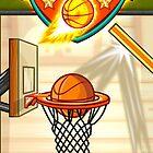 Basketball iPhone Game - Fun Sports Basketball Shooting Game by johnmorris8755