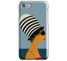 Fancy girl iPhone Case/Skin