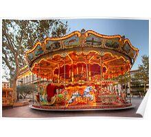 La Belle Epoque Carousel Poster