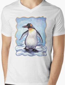 Animal Parade Penguin Mens V-Neck T-Shirt