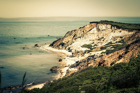 Gay Head Cliffs, Aquinnah, Marthas Vineyard | These
