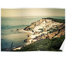Gay Head Cliffs, Aquinnah, Martha's Vineyard, Massachusetts Poster