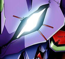 Neon Genesis Evangelion: Eva 01 by darkcloud57
