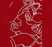 Red Mario by aussiecandice