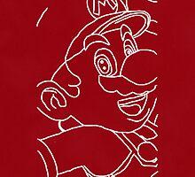 Red Mario by aussiecandice