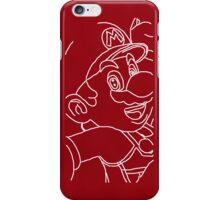 Red Mario iPhone Case/Skin