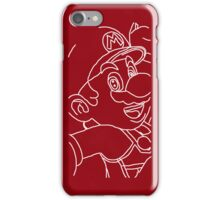 Red Mario iPhone Case/Skin