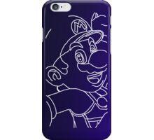 Blue Mario iPhone Case/Skin