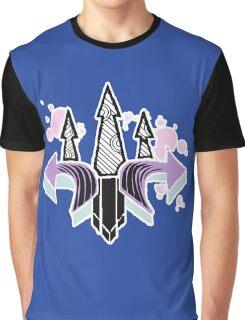 Graffiti Arrows Graphic T-Shirt
